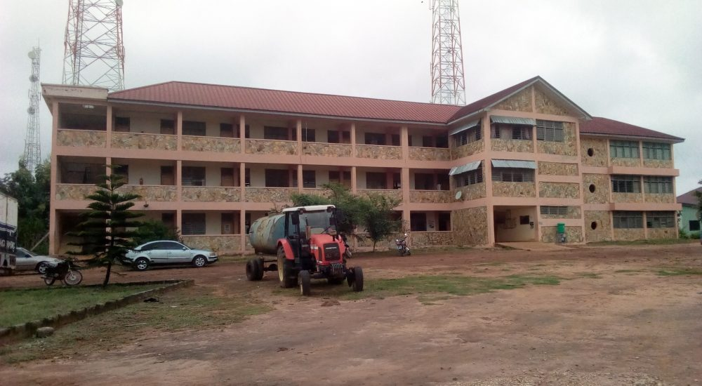 Kintampo South District Administration Block