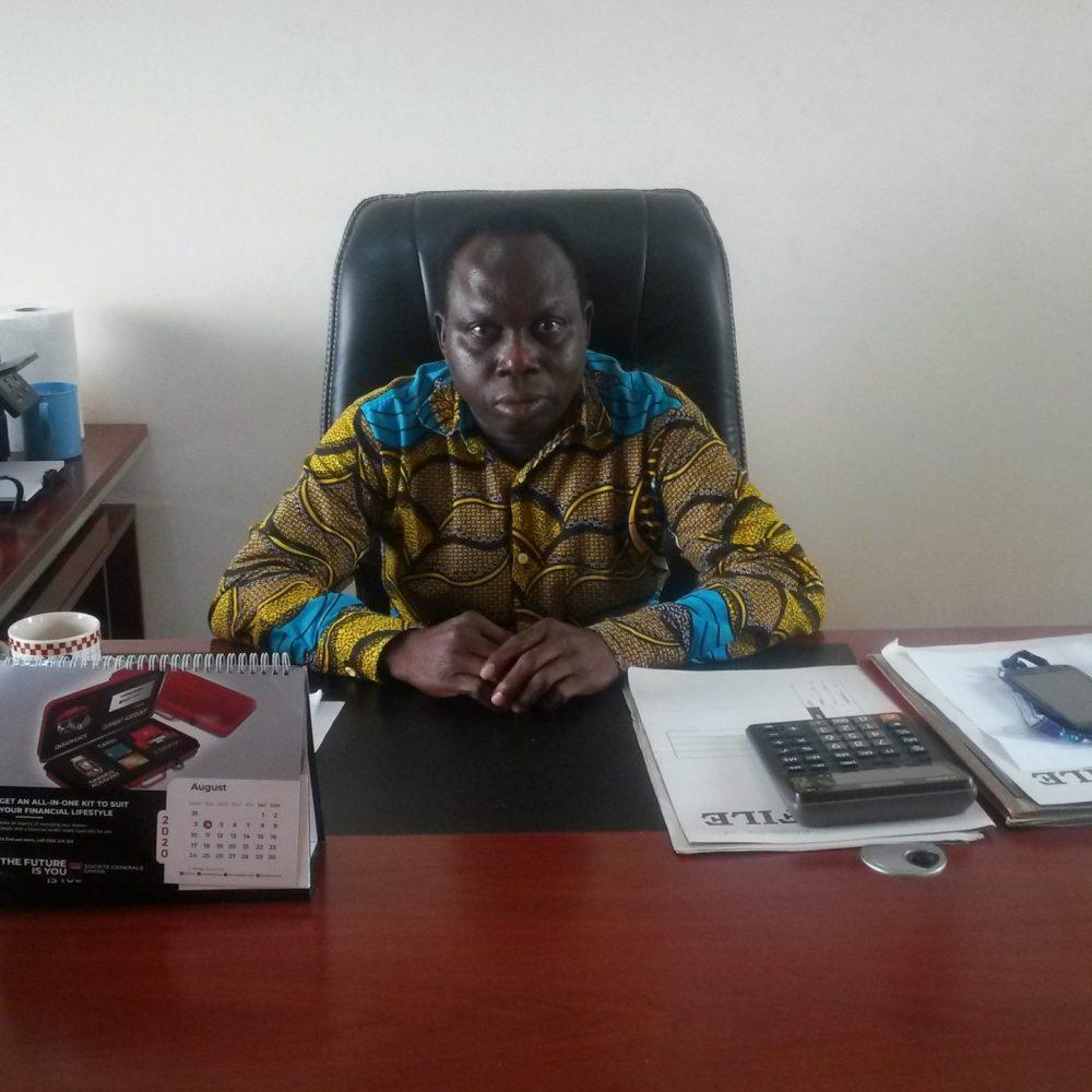 Mr. Hayford Kyere (Head, Central Administration)